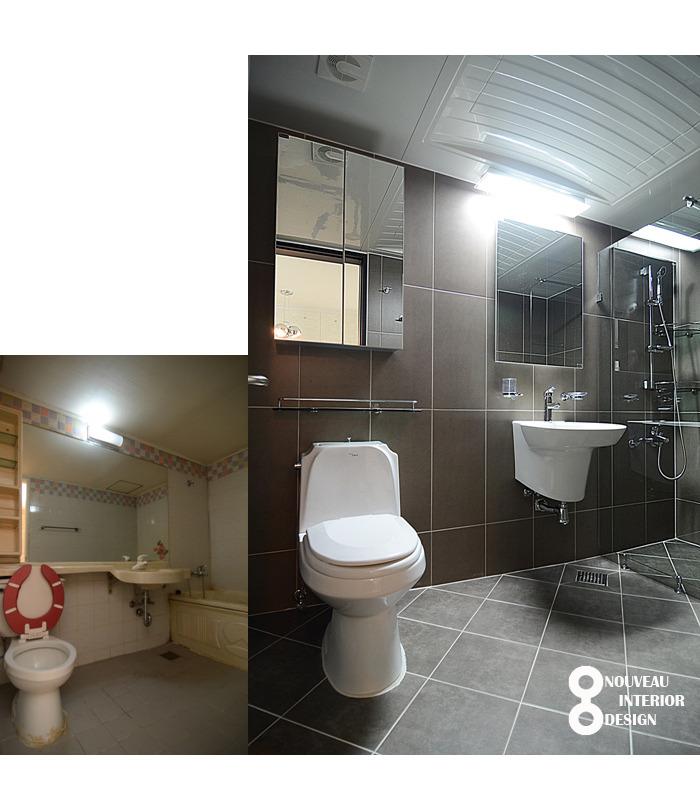서울 강서구 염창동 삼성한아름 아파트 욕실 리모델링 [모던욕실 ...
