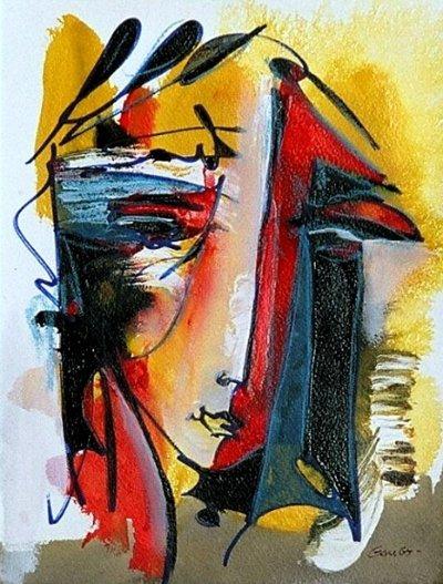 琼-【 Claude Gaugy】绘画 - 空山鸟语 - 月滿江南