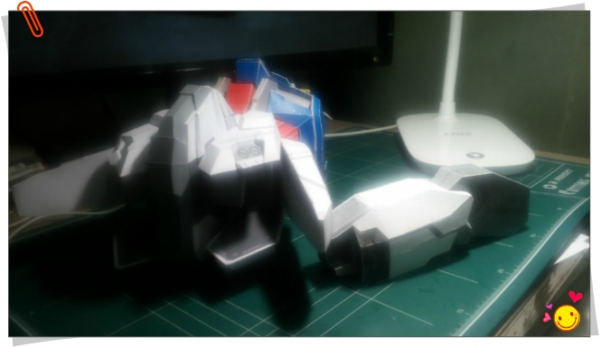 GUNDAM STRKE ROUGE WAIST PART