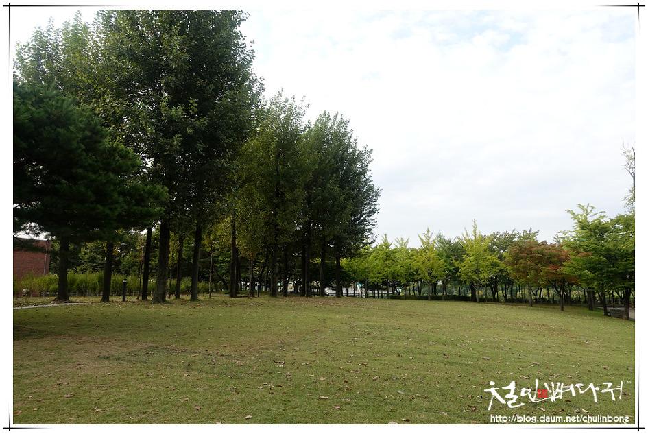 서울 선유도공원의 아침