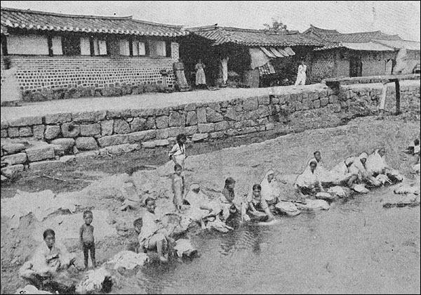 옛 청계천 주변 모습