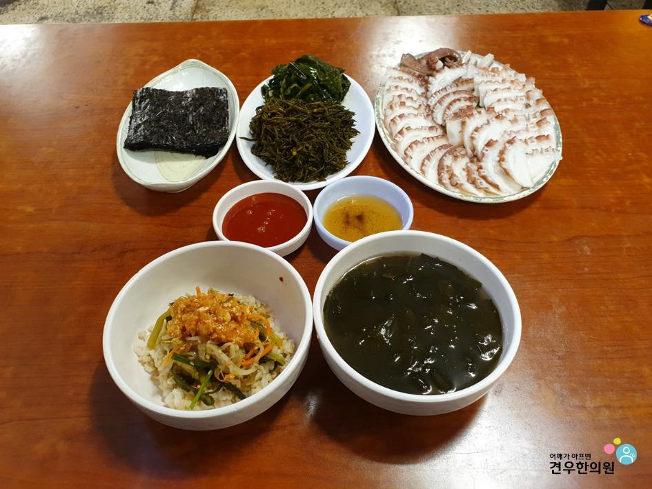식객 허영만의 백반기행 논현동 문어국밥, 돌문어톳쌈, 문어숙회 신사동 돌곰네