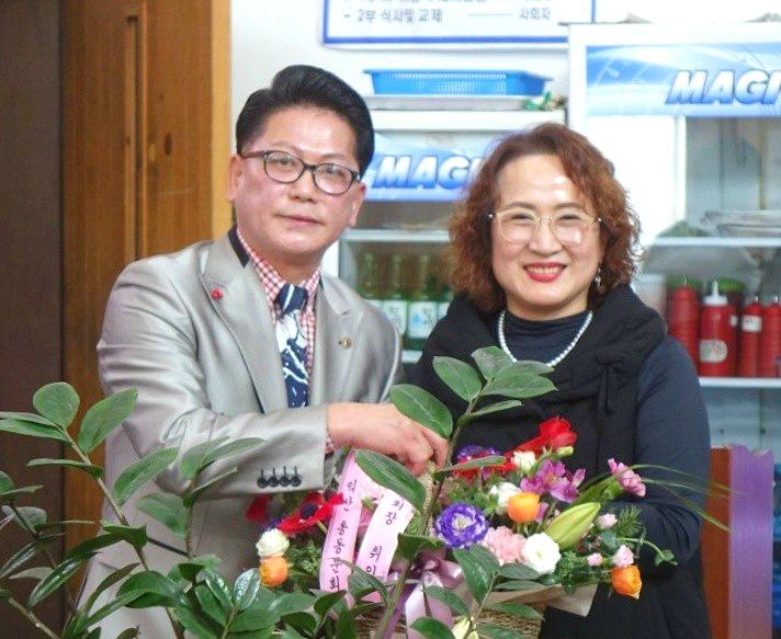 한국방송통신대학교 익산 총 동문회 강종태 회장 취임식