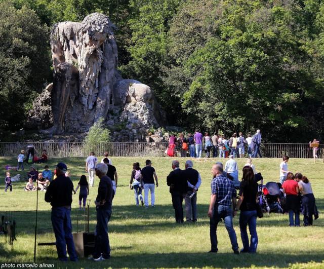 16세기 거대 조각상...이탈리아 투스카니 'Appennine Colossus'