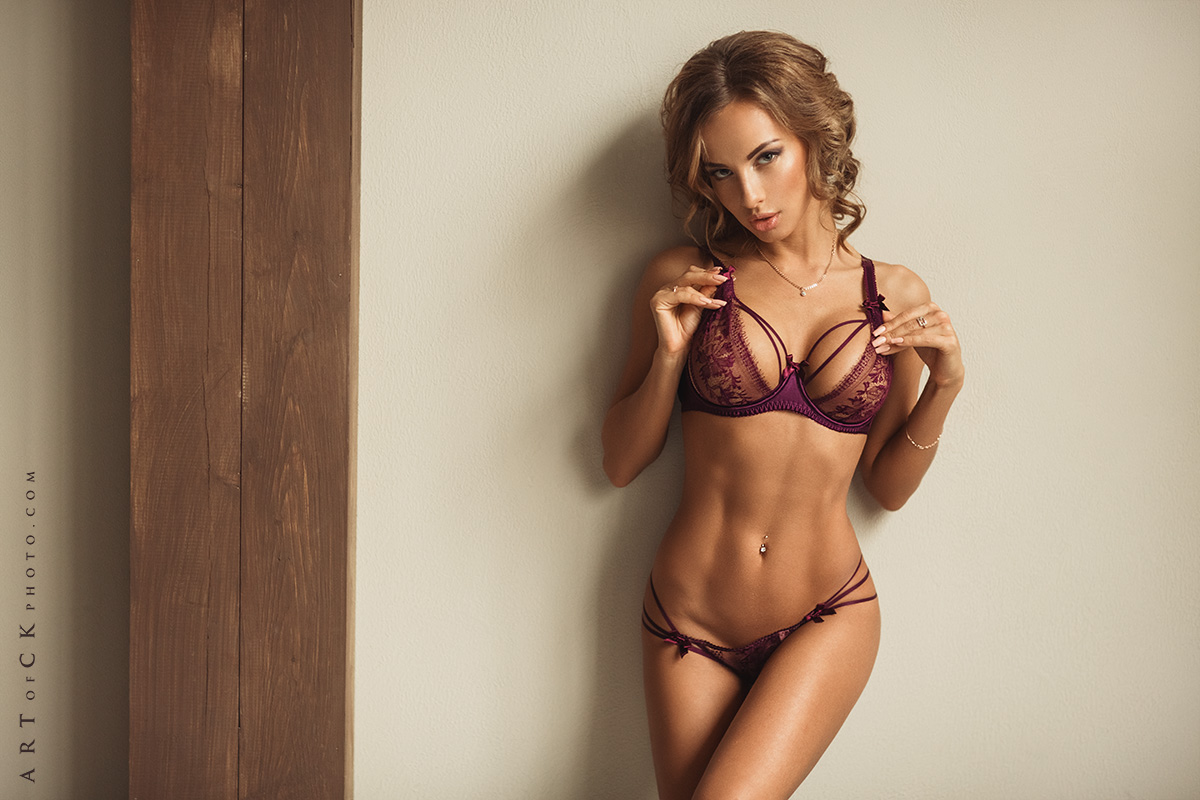 hot lingerie girl