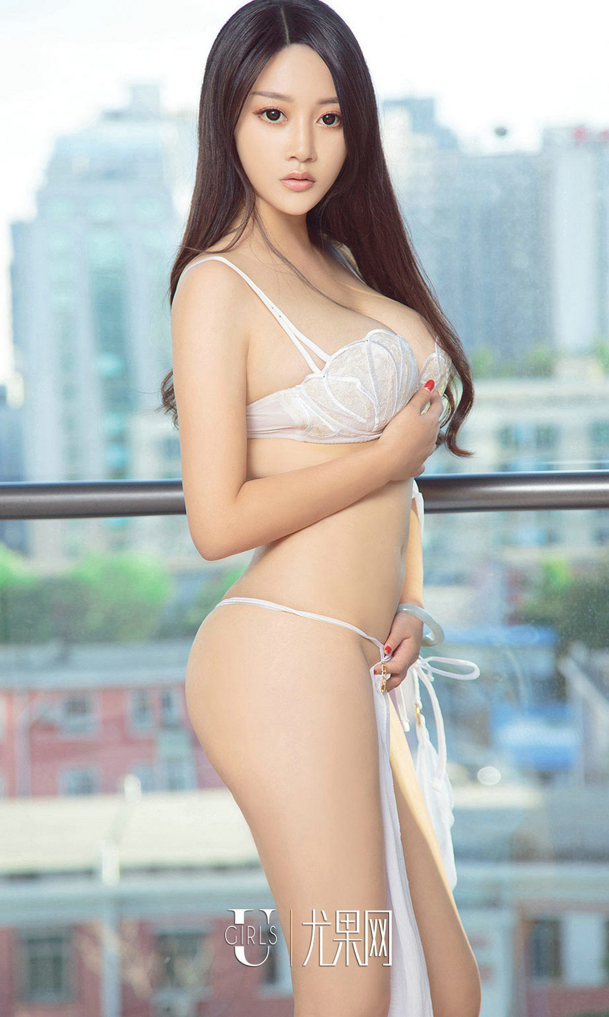 cool nude Chinese in hot lingerie