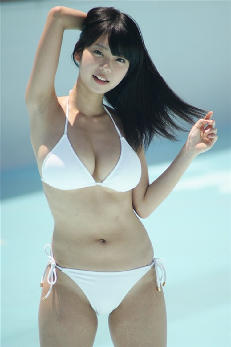 cool Japanese in swim wear